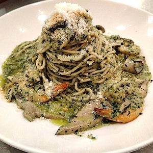 PESTO WITH SHRIMP