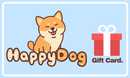 Gift Card, , Gift Card, HappyDog, dogs