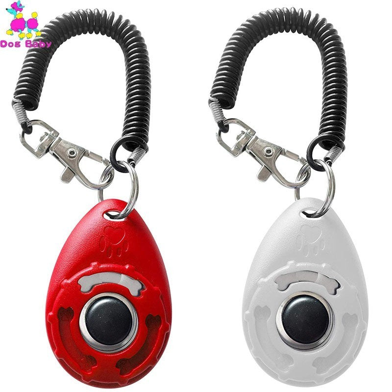 Training Clicker with Wrist Strap, Behave, Clicker, Learning, Sounds, Teaching, Training, Training & Behaviour, HappyDog, dogs