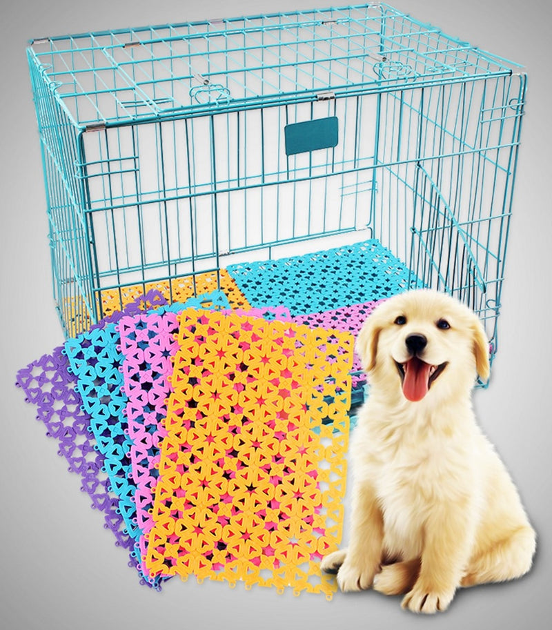 Colourful Dog Cage Mats