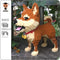 3D HappyDog Building Blocks Toy, 3D, Blocks, Shiba Inu, Toy, Merchandise, HappyDog, dogs