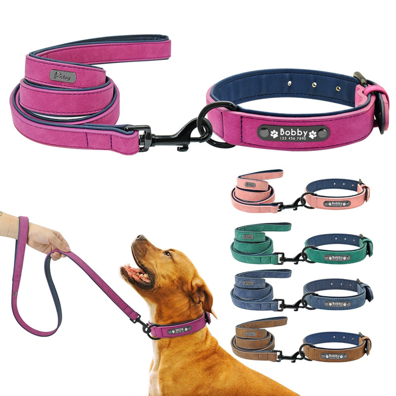 Everyday Personalized Custom Collar & Leash