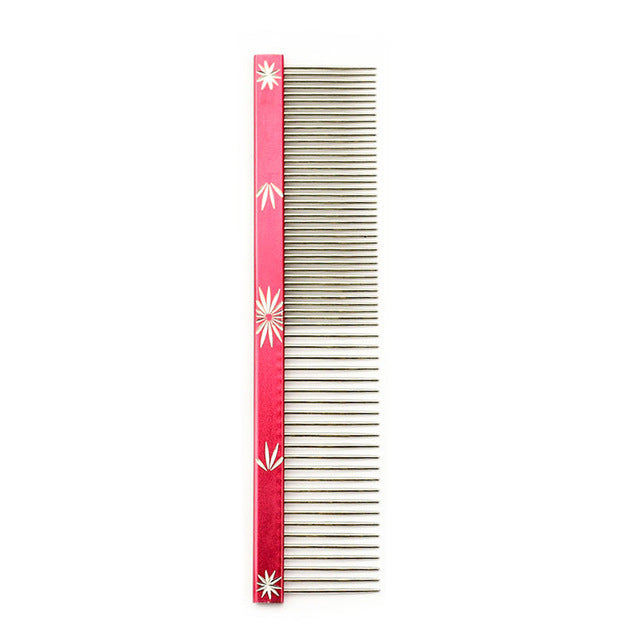 Groovy 2-in-1 Thick & Thin Comb, Colours, Comb, Large, Medium, Grooming & Dental Care, HappyDog, dogs