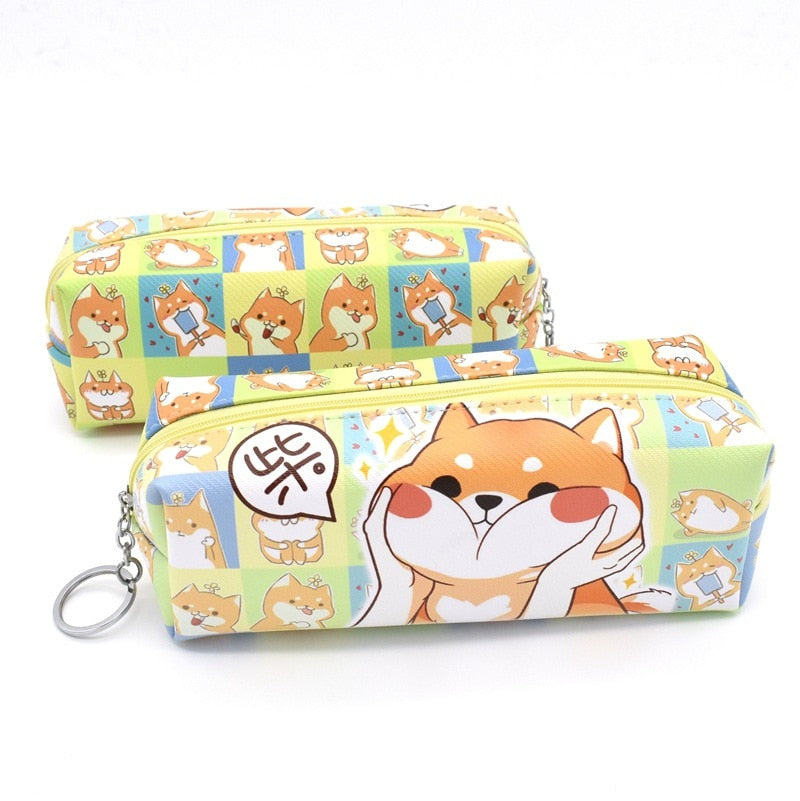 HappyDog Stationery Case, Pencil Case, Stationary, Merchandise, HappyDog, dogs