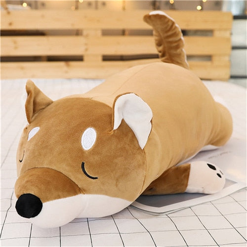 Fat HappyDog Plush Pillow, Big, Pillow Large, Plush, Shiba Inu, Merchandise, HappyDog, dogs