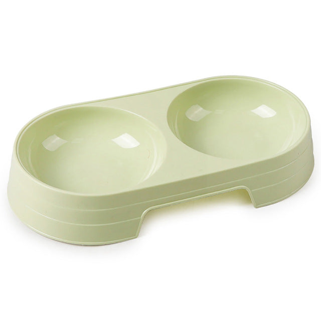 Everyday 2-in-1 Bowl Set, Feeder, Food Bowl, Plastic, Water Bowl, Bowls & Feeders, HappyDog, dogs