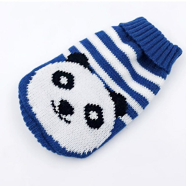 Cute Sweaters, Coat, Fall, Heart, Jacket, Panda, Reindeer, Winter, Clothing, Shoes & Accessories, HappyDog, dogs