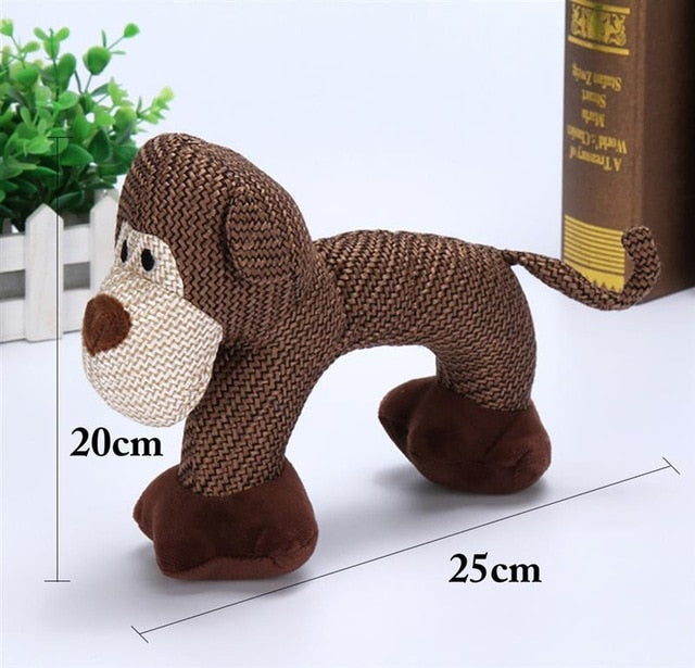 Squeaky Toys - Dog, Monkey & Elephant, Chew Toy, Squeak, Squeaky, Toy, Toys, HappyDog, dogs