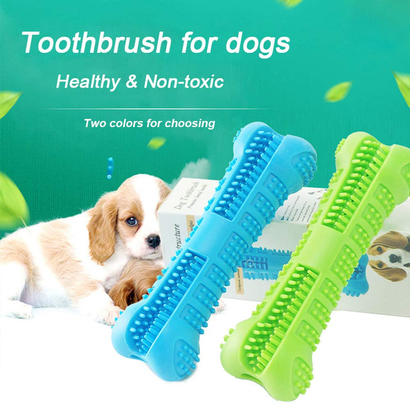 Dental Care Bone Toothbrush, Bone, Cleaning, Dental, Teeth, Toothbrush, Toothpaste, Grooming & Dental Care, HappyDog, dogs