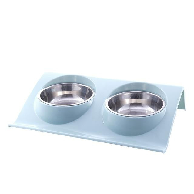 Colourful Stainless Steel Bowl Set, Bowls, Combo, Dish, Food Bowl, Steel, Water Bowl, Bowls & Feeders, HappyDog, dogs