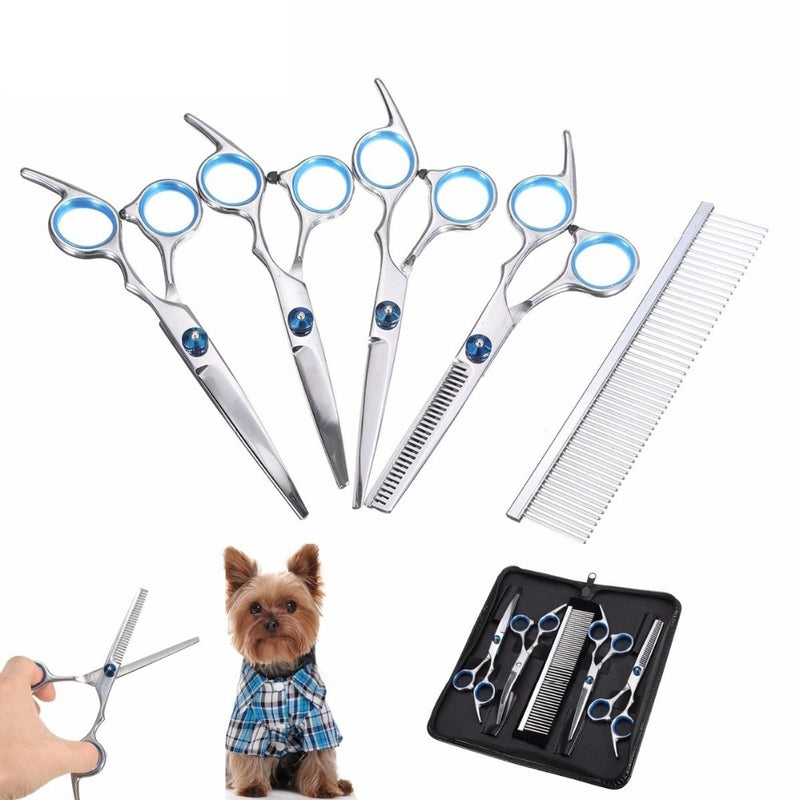 Complete Grooming Scissors Kit, Comb, Grooming, Grooming Kit, Scissors, Scissors Kit, Grooming & Dental Care, HappyDog, dogs