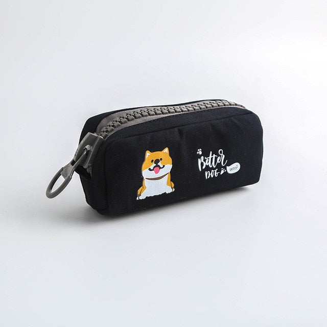 HappyDog Pencil Cases, Pencil Case, School, Stationary, Merchandise, HappyDog, dogs