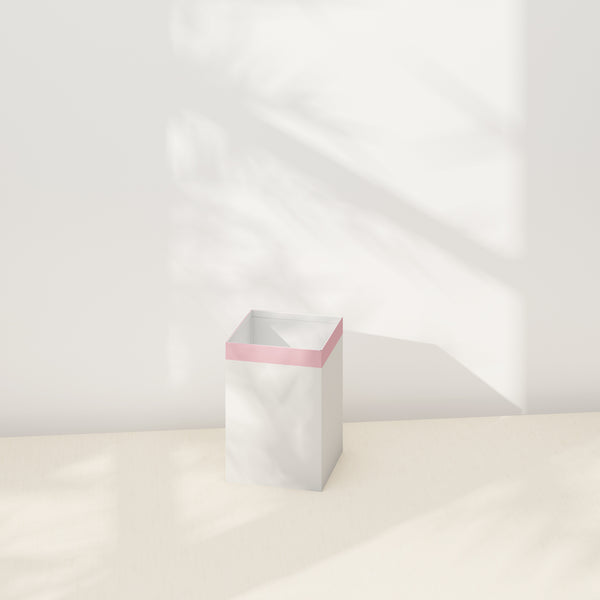 Saro-Wiwa Planter - White