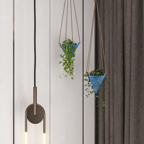 Ceiling Hanging Planters ideas by restory
