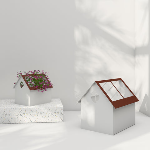 Gardiner House Planter Family - White