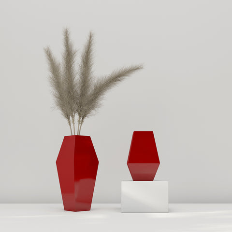 Gaba Vase - Red Family