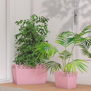 Vandana Planter Pot Family - Pink
