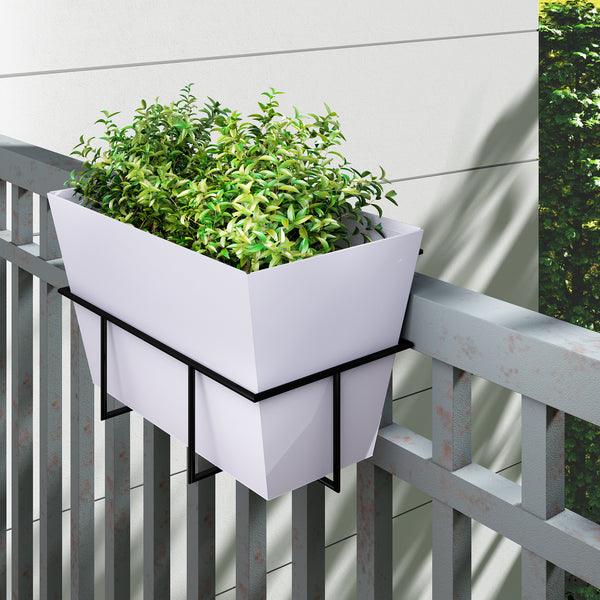 Kavale Railing Adjustable Planter Holder Big- PH-RL-RT-1-B