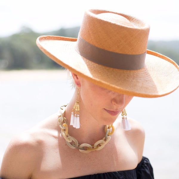 The Planter Honey Panama Hat