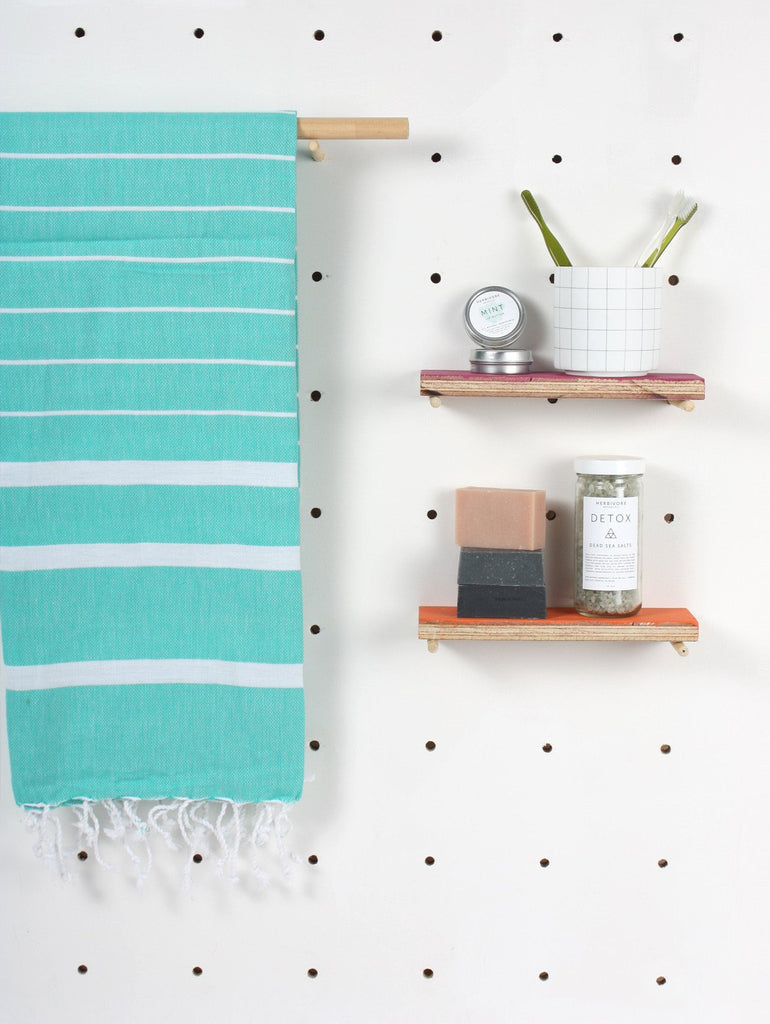 Ibiza Summer Hammam Towel in Jade
