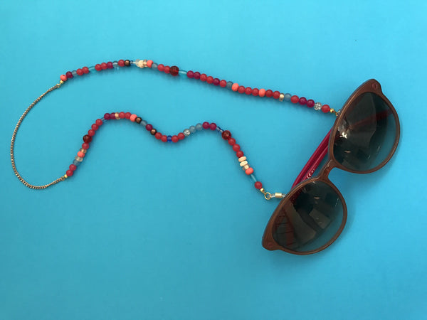 Multi Bead Eyewear Chain