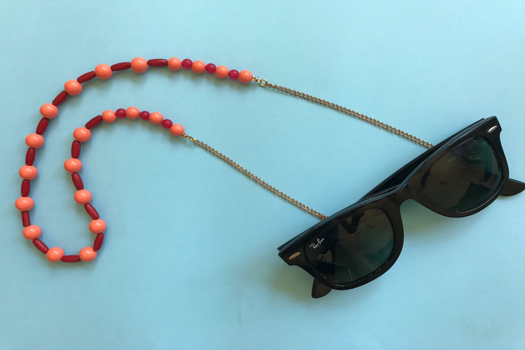 Sun Bead Eyewear Chain