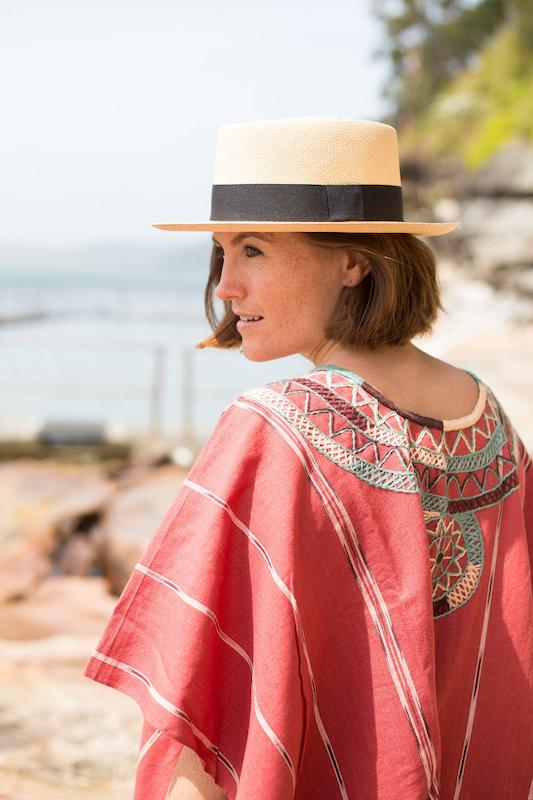Shop Guatemalan handmade Ketzali beach cover-ups at Sunday Tracker