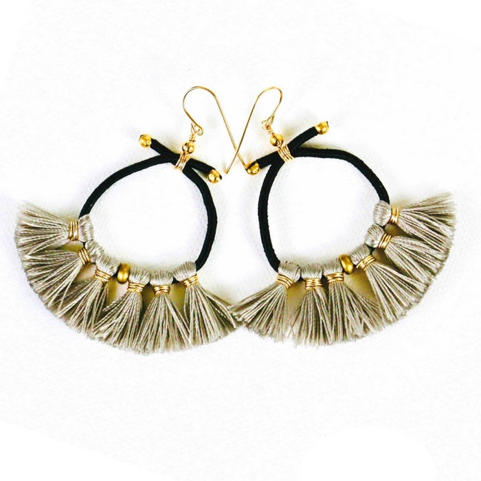 Nikki Tassell Earrings - Dove