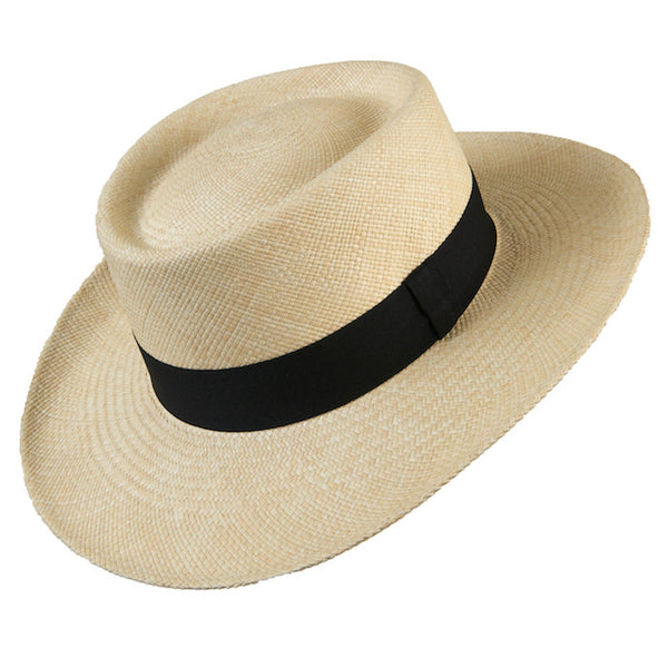 g viteri sunday tracker panama hat Dumont Natural Black