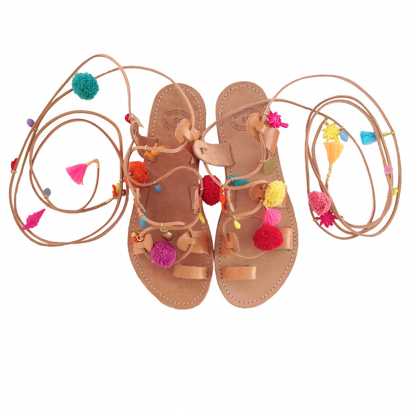 Sunday Tracker | The Ethical Fashion Store | Pom Pom, Tassel & Vintage Charm Sandals