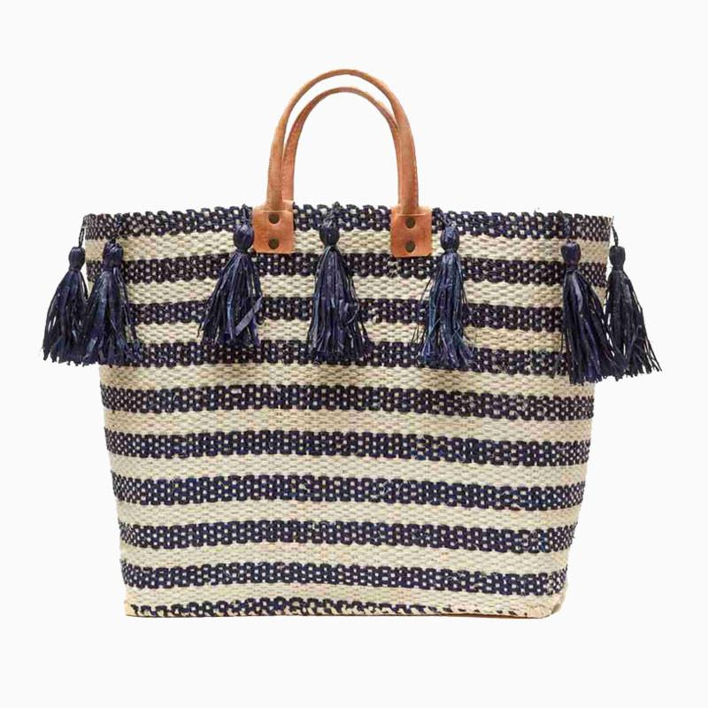 Sahara Tote with Tassels