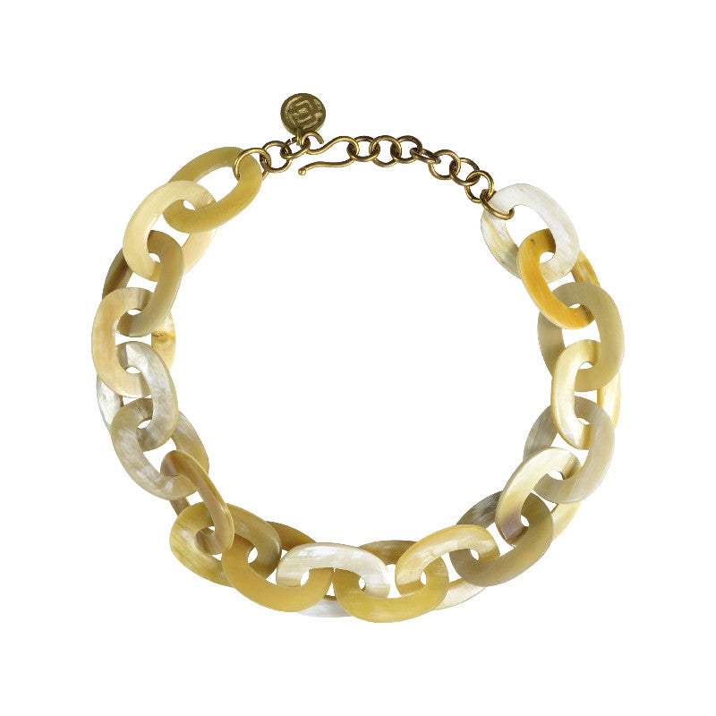 Soko horn link necklace