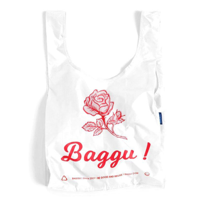 Baggu Tote Bag - Thank You Rose