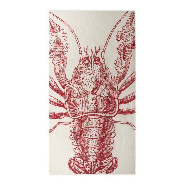 Lobster Cotton Gauze Sarong