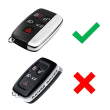 Load image into Gallery viewer, Land Rover Silicone Smart Remote Key Fob Skin Cover Range Rover Sport Evoque Velar  [SKU: LRS5B]