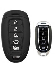 Load image into Gallery viewer, Silicone 5 Button Protective Rubber Key Fob Remote Case Cover Jacket Skin for Hyundai Palisade [SKU: HYUS5A]