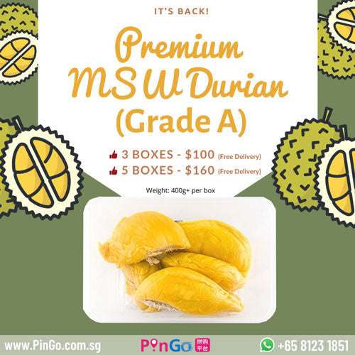 Musang King (猫山王) Durian is here!