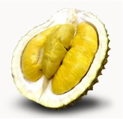 A picture of the Black Gold MSW Durian cut in half
