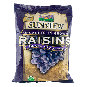 Organic Raisins Black Seedless 无核黑葡萄干