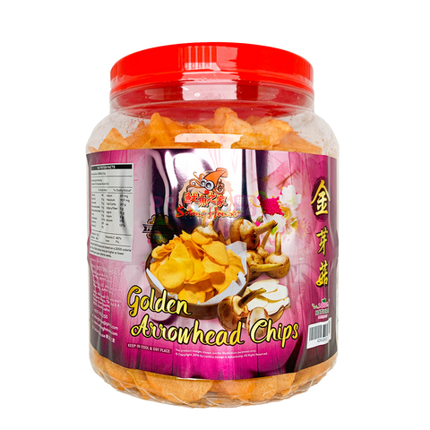 Golden Arrowhead Chips (Spicy) 香脆辣味金芽菇片 - PinGo Express