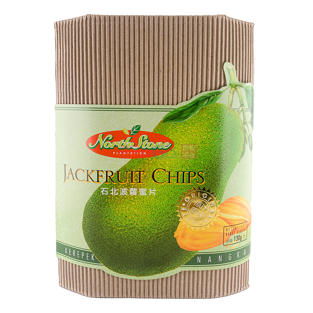 Northstone Plantation Jackfruit Chips 石北菠萝蜜片 - PinGo Express