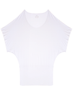 Batwing Tunic Top - White