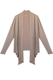 Draped Cardigan - Tan