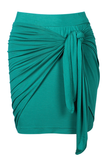 Wrap Skirt - Emerald