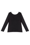 Pullover Top - Black