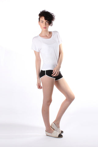 Loose Fit Tee - White