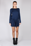 Pullover Top - Navy