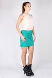Drape Top with Bandeau Bra - Bone