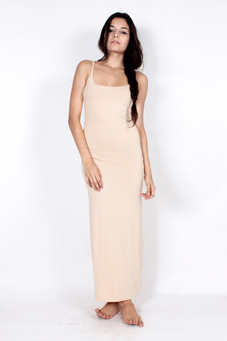 Slipdress (Long) - Sand Nude