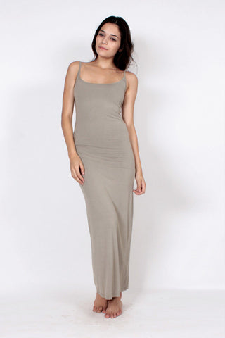 Slipdress (Long) - Khaki